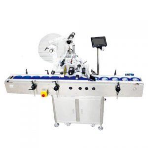 เครื่องติดฉลากการพิมพ์ออนไลน์ด้านล่างถ้วยอัตโนมัติ