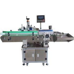 เครื่องจักรติดฉลากสำหรับผลิตภัณฑ์บรรจุภัณฑ์แบบกลม