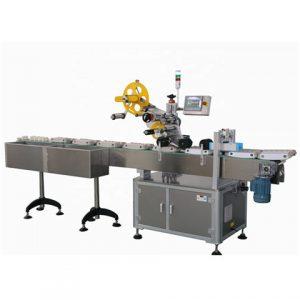 Automatic100ml ขวดพลาสติก Sleeving เครื่องติดฉลาก Applicator